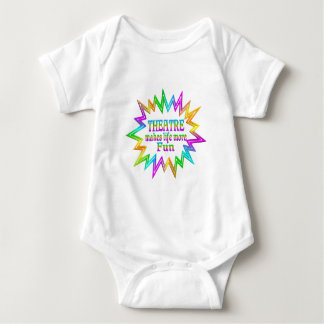 Body Para Bebê Teatro mais divertimento