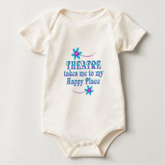 Body Para Bebê Teatro meu lugar feliz