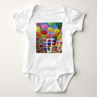 Body Para Bebê Telhado dos guarda-chuvas