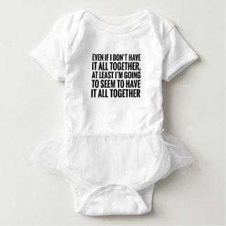 Body Para Bebê Tem todo junto