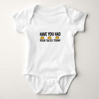 Body Para Bebê Tem você comeu seu tacos hoje