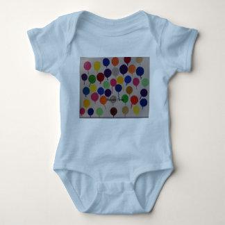 Body Para Bebê Tempo do balão