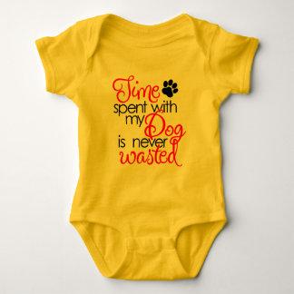 Body Para Bebê Tempo do cão da qualidade