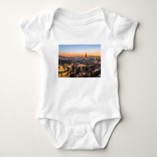 Body Para Bebê tempo do Natal da opinião da cidade de Berna