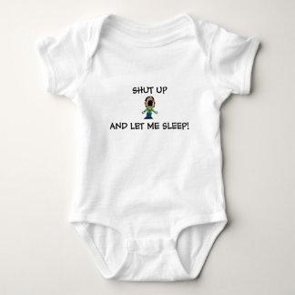 Body Para Bebê TEMPO SONOLENTO do EQUIPAMENTO INFERIOR da CRIANÇA