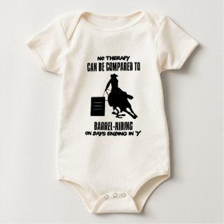 Body Para Bebê Tendendo o design da Tambor-equitação
