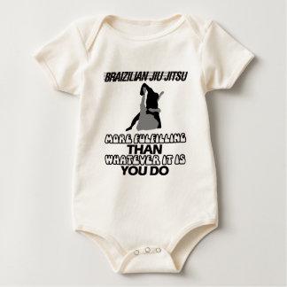 Body Para Bebê Tendendo o DESIGN de Jiu Jitsu