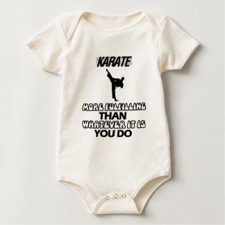 Body Para Bebê Tendendo o DESIGN do karaté