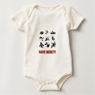 Body Para Bebê tenha o compaixão