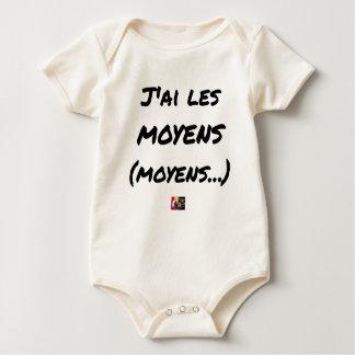 Body Para Bebê TENHO OS MEIOS (MEIOS…) - Jogos de palavras