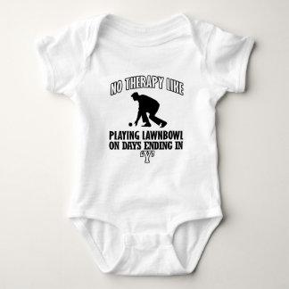 Body Para Bebê Tensão e design impressionante da gramado-bacia