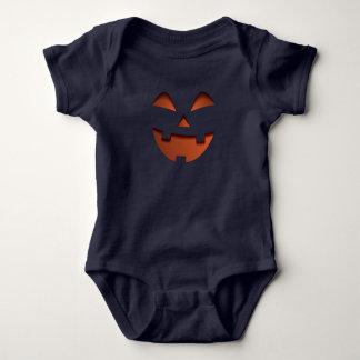 Body Para Bebê Terno assustador de sorriso do jérsei do bebê da