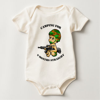 Body Para Bebê Terno de acampamento da criança do bebê