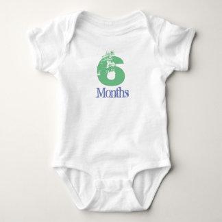 Body Para Bebê Terno de seis meses do corpo