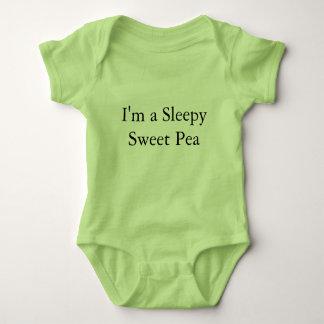 Body Para Bebê Terno de uma peça só do corpo do bebê sonolento da