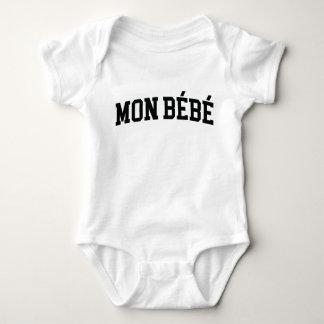 Body Para Bebê Terno do corpo de segunda-feira Bébé