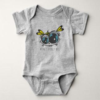 Body Para Bebê Terno do corpo do bebê da abelha do mel