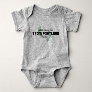 Body Para Bebê Terno do corpo do bebê de Portland 304 da equipe