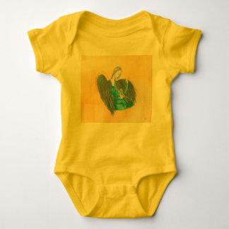 Body Para Bebê Terno do corpo do bebê do anjo