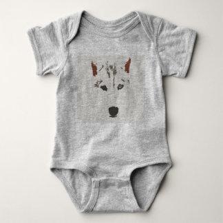 Body Para Bebê Terno do corpo do rouco Siberian