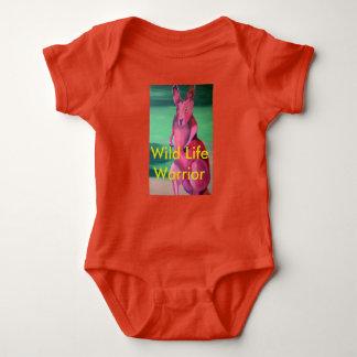 Body Para Bebê Terno infantil do corpo. Guerreiro selvagem da