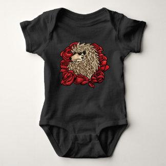 Body Para Bebê Terno mal-humorado do bebê do ouriço