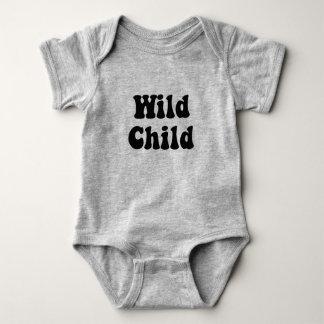 Body Para Bebê Terno selvagem do corpo da criança