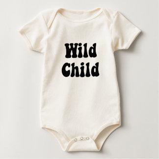 Body Para Bebê Terno selvagem do corpo do creme da criança