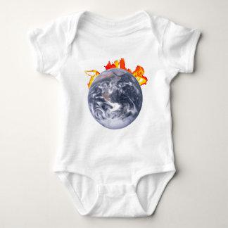 Body Para Bebê Terra do aquecimento global