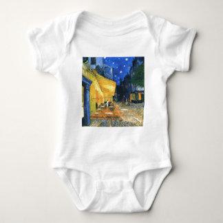 Body Para Bebê Terraço do café de Van Gogh
