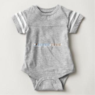 Body Para Bebê Terras comuns do beira-rio