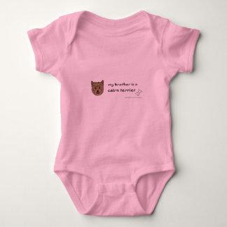 Body Para Bebê terrier de monte de pedras
