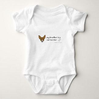 Body Para Bebê terrier de rato