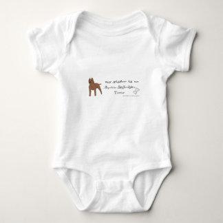 Body Para Bebê terrier de Staffordshire americano