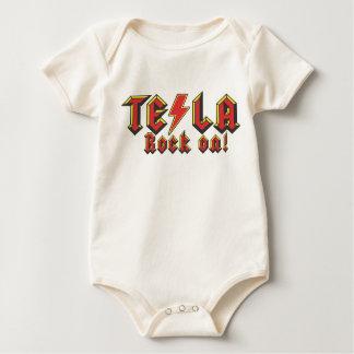 Body Para Bebê Tesla Nikola
