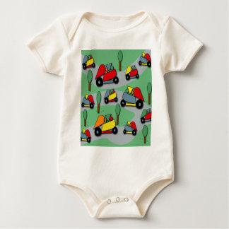 Body Para Bebê Teste padrão 2 dos carros do brinquedo
