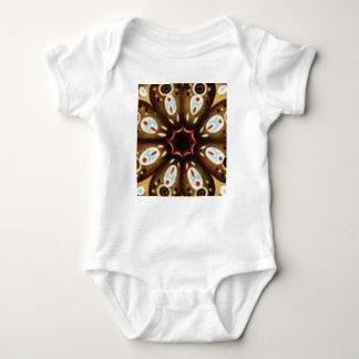 Body Para Bebê teste padrão colorido do ponto