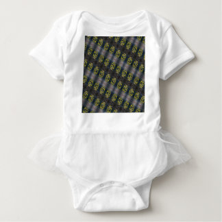 Body Para Bebê Teste padrão das juntas de bronze