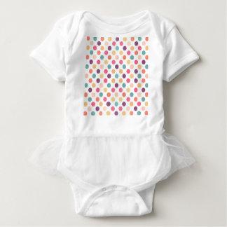Body Para Bebê Teste padrão de pontos bonito XI