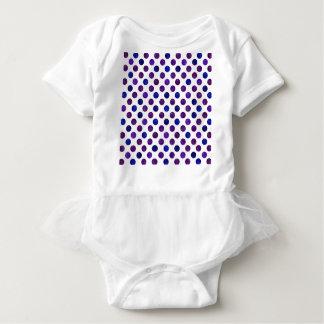 Body Para Bebê Teste padrão de pontos bonito XV