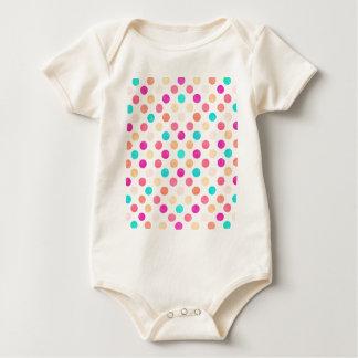 Body Para Bebê Teste padrão de pontos bonito XVI