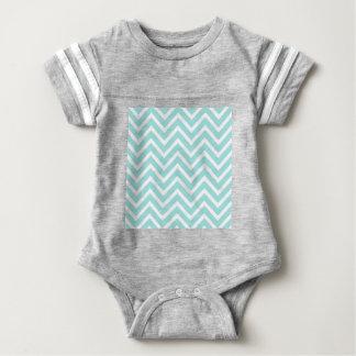 Body Para Bebê Teste padrão de ziguezague
