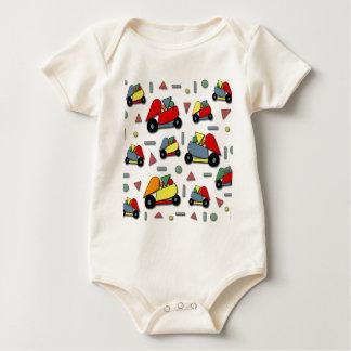 Body Para Bebê Teste padrão dos carros do brinquedo