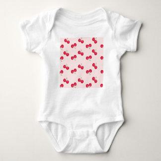 Body Para Bebê Teste padrão original das cerejas doces