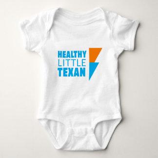 Body Para Bebê Texan pequeno saudável - branco