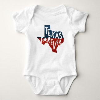 Body Para Bebê Texas para sempre