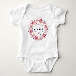 Body Para Bebê Texto personalizado para miúdos