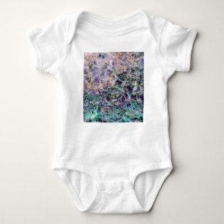 Body Para Bebê textura de pedra amethyst