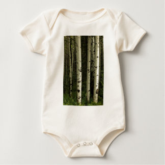 Body Para Bebê Textura de um retrato da floresta