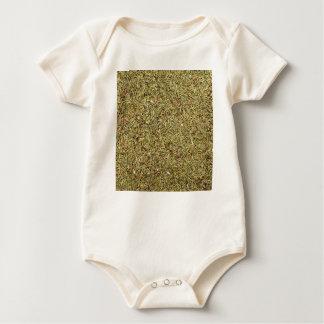 Body Para Bebê textura secada do tomilho